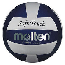 Molten Blue/White Soft Touch Volleyball