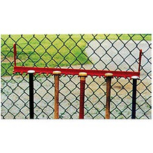 Athletic Connection Steel Fence Bat Rack