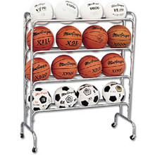 Athletic Connection Wide Body Ball Cart-16 Balls