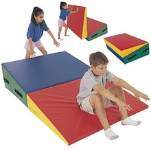 GSC Folding Downhill Gymnastic Mat 10' X 5' X 22""