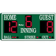 MacGregor BS84 Outdoor Baseball/Softball Scoreboard