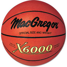 MacGregor X-6000 Indoor/Outdoor Basketball Mens Official Size 2