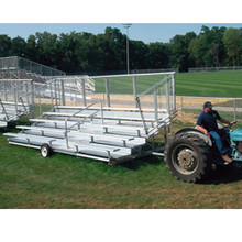 Transportable Bleachers 5 Row 68 Seats Deluxe Design