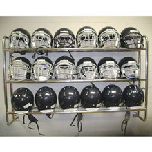 Athletic Connection Wall Mounted Football Helmet Rack
