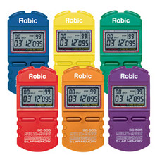 Robic 505 Timers 6 Color Pack