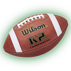 Wilson K2 Composite Football Pee Wee Size under 10