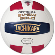 Tachikara SV-5W Leather Cover Volleyball