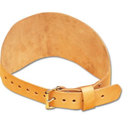 """Champion Barbell 6"""" Wide Training Belt Tapered Leather"""