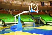 Gared Sports ProS 8' NFHS NAIA NCAA NBA Portable Basketball Goal
