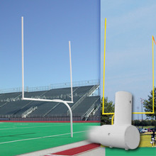 Alumagoal Ground Sleeves for Football Goalposts - Pair