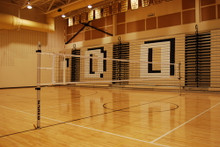 Gared Sports 6000 Scholastic One-Court Volleyball Net System