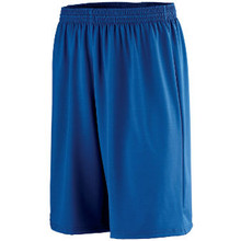 Augusta Sportswear Adult Longer Length Poly/Spandex Short