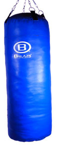 Balazs Boxing Coated Canvas 50 lb. Heavy Bag - Double-End Ready