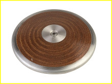 Champion Sports 1.6 Kilo Competition Wood Discus, CS-1.6KW