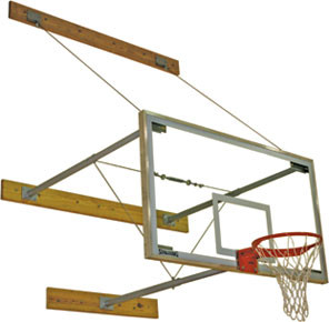 "Spalding 3-Point Wall Mount (24""-40""), AA-302-725"