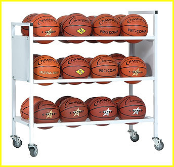 Champion Double Wide Ball Cart, 24BC