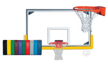 Gared Collegiate Backboard Package for Indoor Gyms