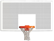 Gared Perforated Steel Backboard, 42 x 72