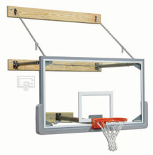 Gared Basketball Package: 3 Point Wall Mount, Backboard and Goal