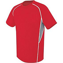 High 5 Sportswear Youth Short Sleeve Warm-Up Jersey