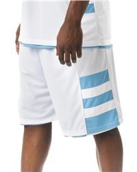 """A4 Adult Reversible Speedway 10"""" Short N5334"""