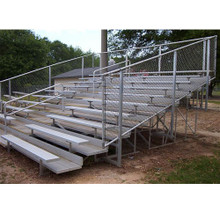 VIP Bleachers 8 Row/80 Seat/15'-Fence