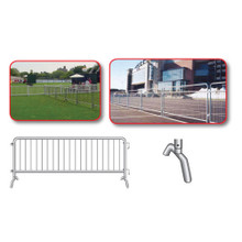 Crowd Control Steel Barricades