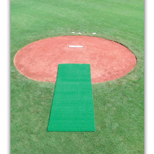 Turf Pitcher's Mat - Green 6' x 12'