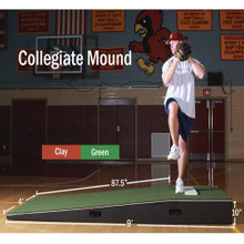 Practice Mound with Turf-H.S./College