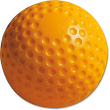 "MacGregor® 9"" Yellow Dimpled Baseball"