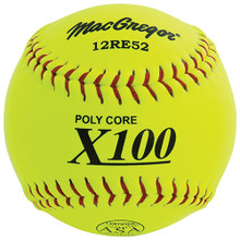 "MacGregor X52RE ASA Slow Pitch 12"" Softball - Composite"