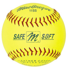 MacGregor® Safe/Soft Training Softballs