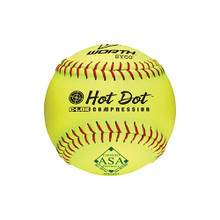 "Worth™ Hot Dot™ 12"" ASA Slow-Pitch Softballs"