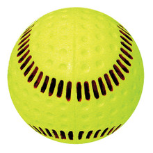 "Baden Seamed Machine Softball-12"" Yellow"