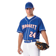 Baseball Jersey with Braid Adult