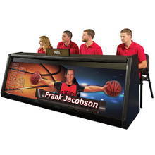 "BSN Digital Scorer's Table 6' 8"" - 3 St"