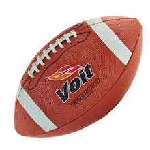 Voit Enduro Rubber Football w/Stitched Laces-Junior