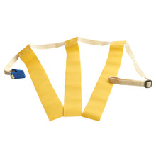 Triple Threat Flag Football Belts Yellow