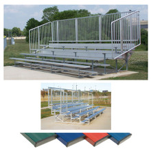 4 Row 15' Vertical Picket Bleacher