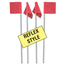Reflex Soccer Corner Flags (Set of 6)