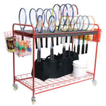 Racquet Storage Cart