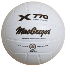 MacGregor X770 Leather Volleyball