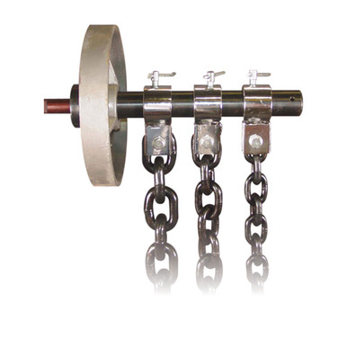 """1/2""""- 22 lb. Weight Lifting Chains"""