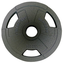 Olympic Grip Plate 25LB