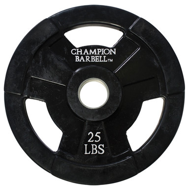 25lb. Olympic Rubber Coated Grip Plate