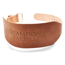 Champion Training Wt. Belt-6in Tapered