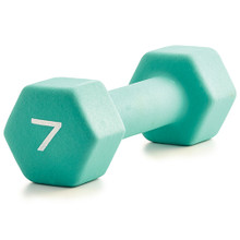 Neoprene Dumbbell  - Teal 7LB