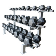 Adj. Dumbbell Racks 12 pr. w/cradle