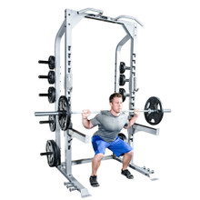 Champion Half Rack with Platform