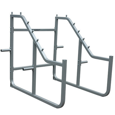 Champion Step Squat Rack-Silver